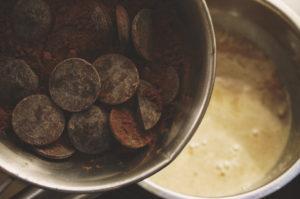 ウィルスターズコーヒー、チョコレートソース